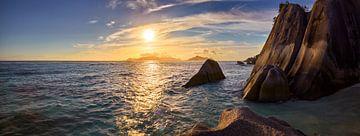 Seychellen Panorama von Silvio Schoisswohl