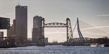 3 Rotterdamse bruggen (kleur) van Rick van der Poorten