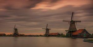 Drie molen aan de Zaanse Schans