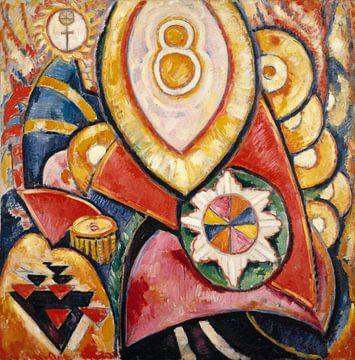 Schilderij nr. 48, Marsden Hartley