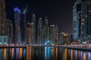 Dubai bij nacht 5