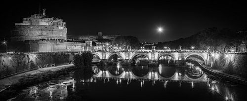 Rome - Ponte Sant'Angelo - Castel Sant'Angelo