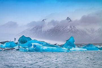 Jökulsárlón Glacier Lagune van Melanie Viola