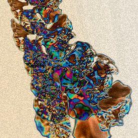 Abstraktion - Bewegung - #002 (Tagesversion) von Peter Baak