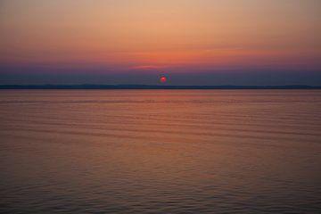 Sunset behind Copenhagen von Leon van Voornveld