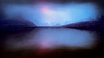 Sonnenuntergangsfarben 5 von Angel Estevez
