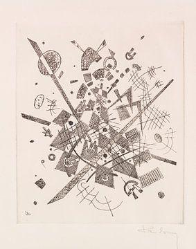 Kleine Welten IX, WASSILY KANDINSKY, 1922 von Atelier Liesjes