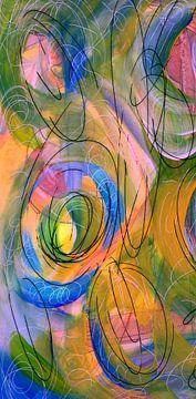 Vortex - Wind 1 van Claudia Gründler