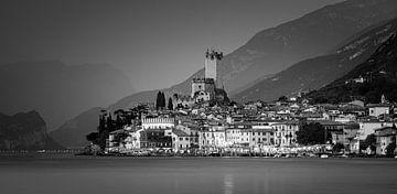 Een avond in Malcesine, Gardameer, Italië van Henk Meijer Photography