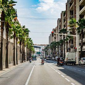 Toulon Straßenleben von Andre Klooster