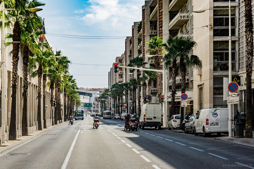 Toulon streetlife van Andre Klooster