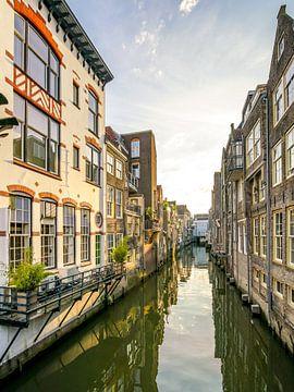 Vorbei an der Visbrug in Dordrecht von Dirk van Egmond