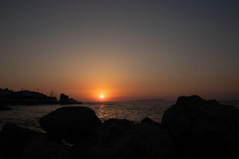 Zonsondergang van Yana Koolen