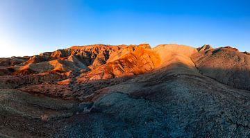 Rainbow Basin Natural Area - Barstow Californië van