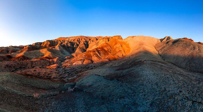 Rainbow Basin Natural Area - Barstow Californië van Remco Bosshard