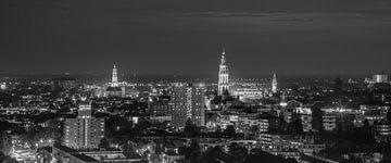 Die Skyline der Stadt Groningen von Henk Meijer Photography