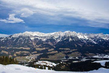 Oostenrijkse bergen in de winter von Remco de Zwijger