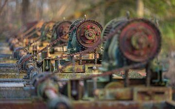 Industrieel erfgoed in Waterloopbos 1 van Jenco van Zalk