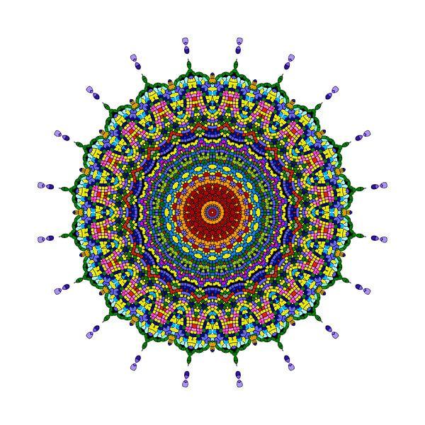 Mandala Butterfly von Marion Tenbergen