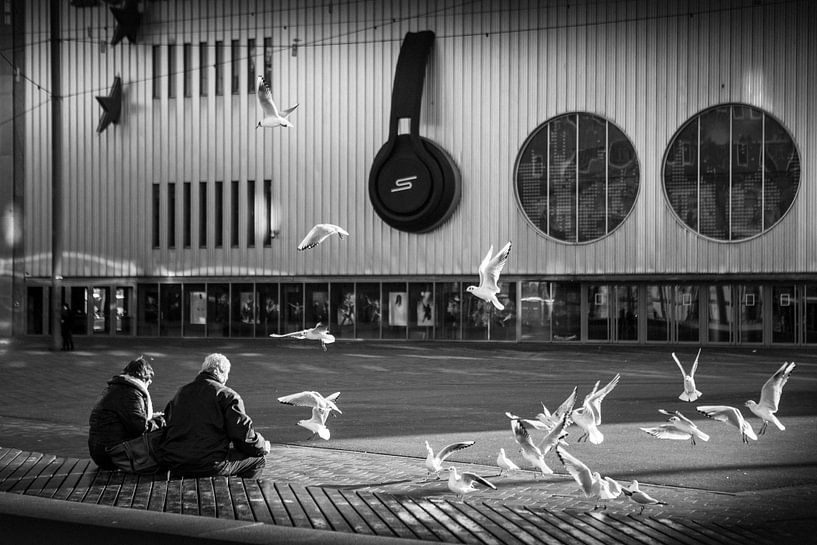 Heineken Music Hall Zwart-Wit van PIX URBAN PHOTOGRAPHY