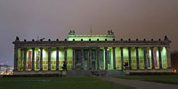 Berlin bei Nacht von Babetts Bildergalerie