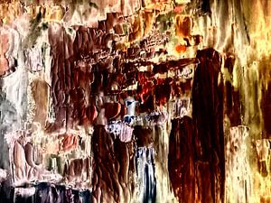 Abstrakt in Öl