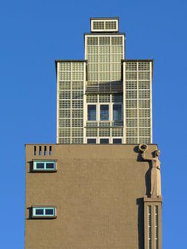 Albinmüller-Turm, Magdeburg van Barbara Hilmer-Schroeer