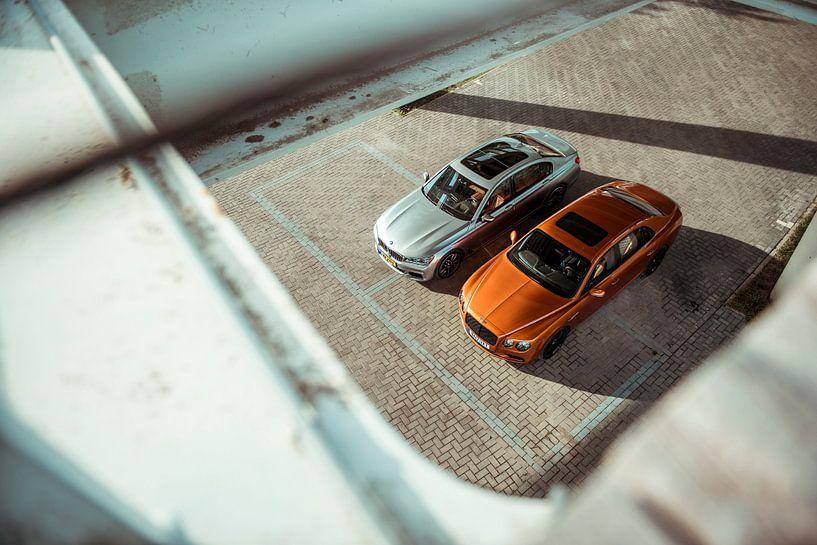 BMW M760Li - Bentley Mulsanne W12 S van Sytse Dijkstra