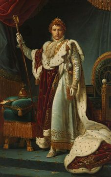 Porträt von Kaiser Napoleon I., François Gérard
