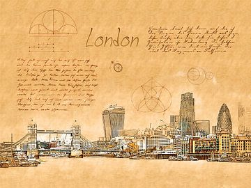 London van Printed Artings