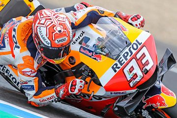 Marc Marquez/MotoGP Jerez van Marco Dek