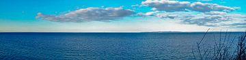 Panorama Ostsee (Breitwandfoto) von Norbert Sülzner