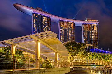 Abend in Singapur von Adelheid Smitt