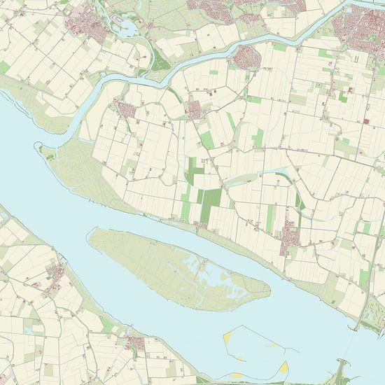 Kaart vanKorendijk