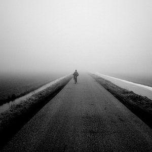 Zwarte Mist - fietser