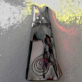 Abstrakte Katze von Maurice Dawson