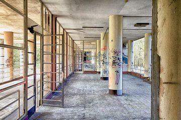 Krankenhaus in Belgien von Elly Damen