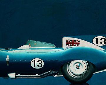 Jaguar Type D 1956 van Jan Keteleer