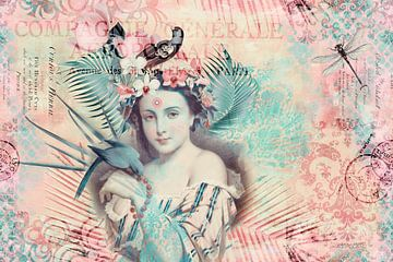 Mädchen im Zaubergarten von Andrea Haase