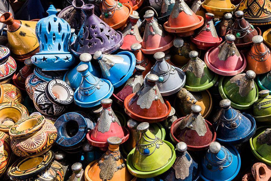 Kleurrijk Marokko van Herwin Wielink