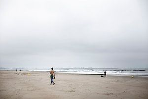Spelen op het Strand van Mister Moret Photography