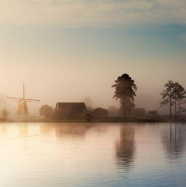 Dreamy Morning van Jacq Christiaan