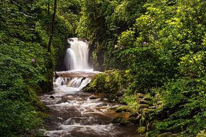 Waterfall in Geroldsau