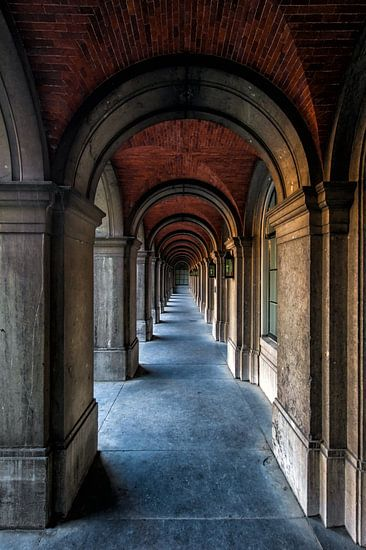 Architectuur Den Haag Binnenhof van Steven Dijkshoorn