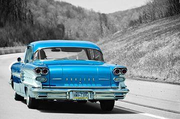 Klassieke Pontiac van Ronald George