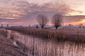 Groninger landschap van Marga Vroom