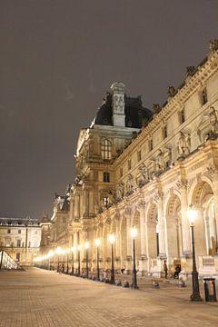 Die Lichter des Louvre bei Nacht von R.Phillipson