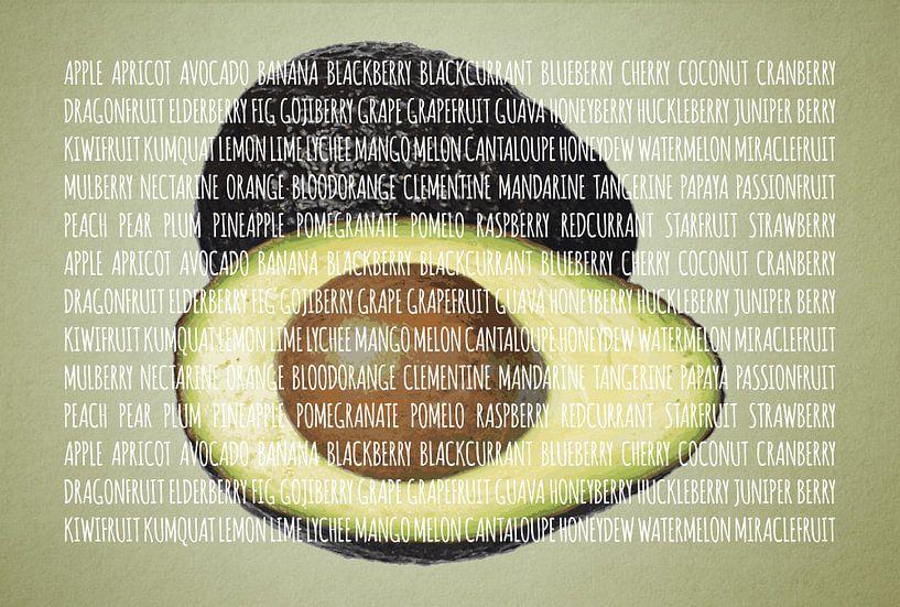 Fruities in kleur Avocado van Sharon Harthoorn