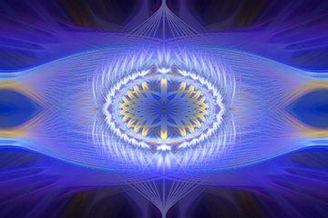 Twirl Creation - blue and lila van Ursula Di Chito
