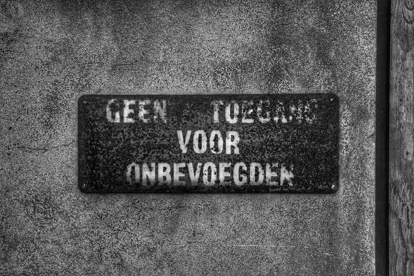 Een oud bord von Melvin Meijer